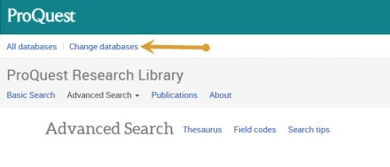 Screenshot of PQ Research Library.